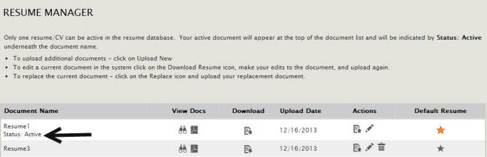 Resume Status And Resume Book Status Confusion
